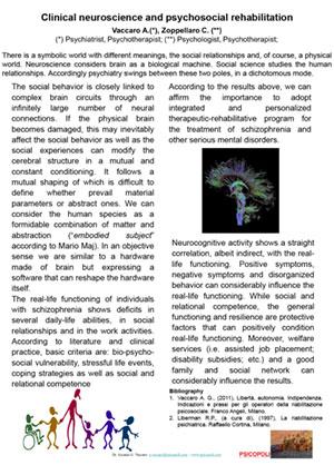Clinical neuroscience and psychosocial rehabilitation